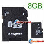 8GB Micro SD Card with Adapter