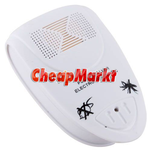 Ultrasonic Electronic Pest Mouse Bug Mosquito Insect Repeller Electro Magnetic