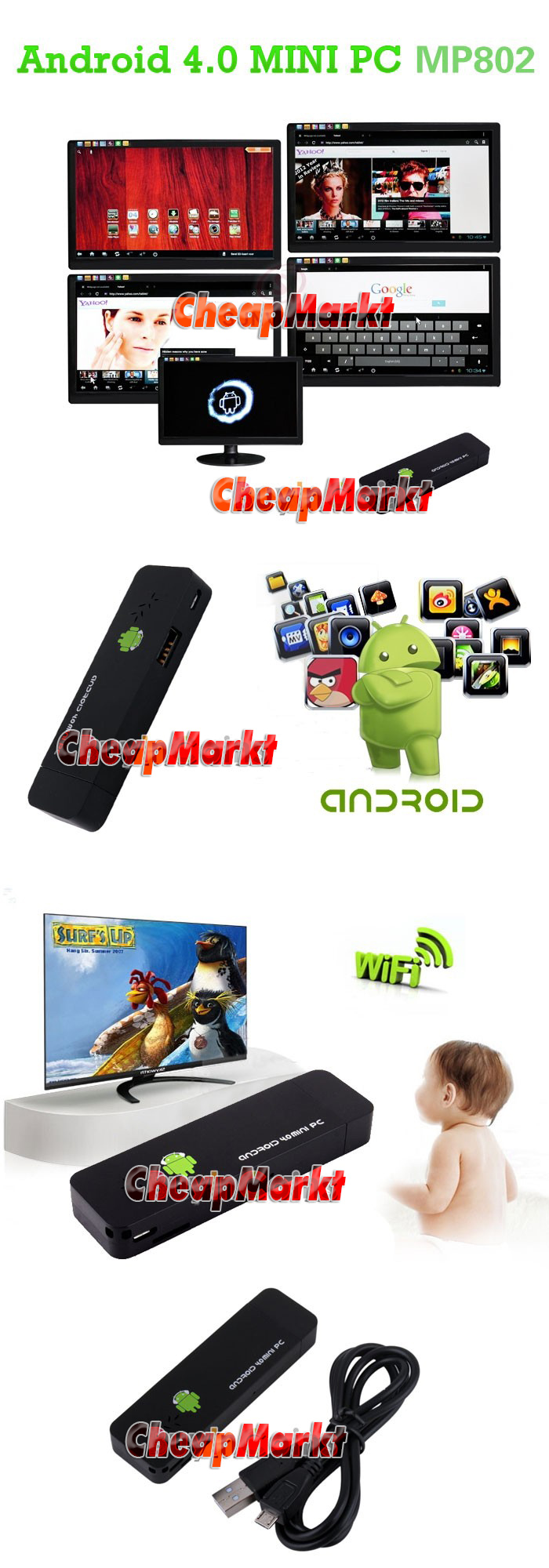 Мини Android Tv