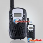 2 Pcs LCD 1 Pair 0.5W UHF Auto Multi-Channels 2-Way Radios Walkie Talkie