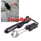 Portable 12V Car Immersion Heater Tea Coffee Water Auto Electric Heater
