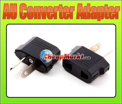 US/EU to AU AC Power Plug Travel Converter Adapter