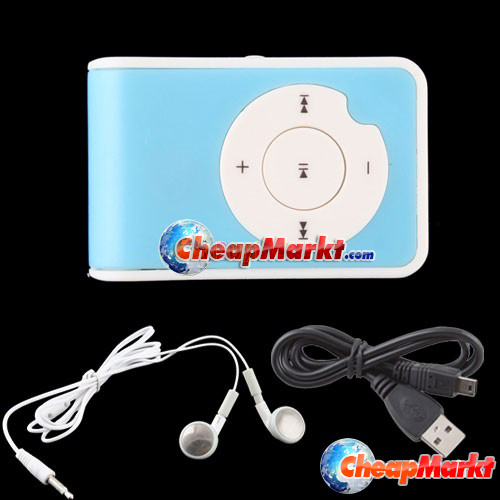 USB Mini Clip MP3 Player Micro Support Up To 1GB 2GB 4GB 8GB TF Card 5 Colors