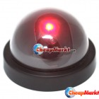 Fake Dome Security Camera Motion Detector CCTV + LED