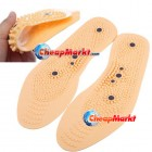 Clean Health Foot Care Magnetic Therapy Thener Massage Insoles Shoe Comfort Pads
