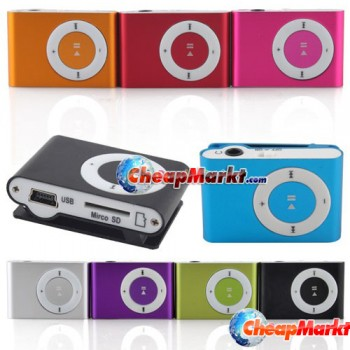 MP3 Player with Micro SD TF slot (up to 8 GB)