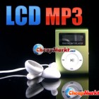 2GB LCD Screen Metal Mini Clip on MP3 FM Radio Player