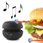 Mini Hamburger Portable 3.5MM Speaker for iPod iPhone