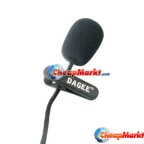 Mini Clip Business Stereo Microphone Mic for PC Laptop