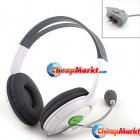 Headset Headphone with Microphone Mic Live Chat for Xbox 360