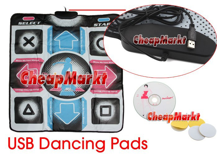 Non-Slip Dancing Mat Pad, connectable to PC via USB