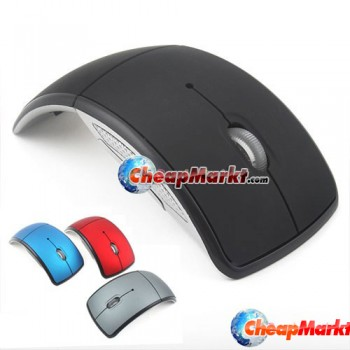 Fold-UP 2.4GHz Wireless USB Wheel Optical Mouse PC