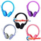 3.5mm Colorful Fashion Stereo Headset Headphone for PC Tablet Laptop