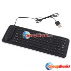 Portable USB Mini Flexible Silicone PC Keyboard Foldable for Laptop Notebook