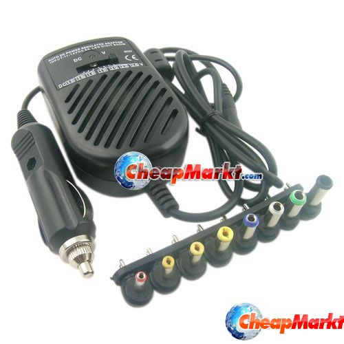 Universal Car Charger Adapter 80W Power Supply for Laptop Notebook