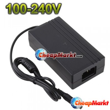 Power Supply Adapter Balancer Charger AC 100-240V DC 12V 5A for Laptop LED Strip