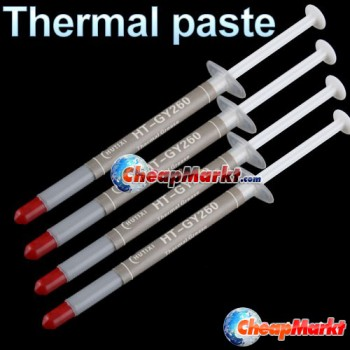 4 X 1g Silver Thermal Grease Paste CPU Heatsink Silicone Compound