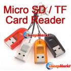 USB 2.0 Micro SD T-Flash TF Memory Card Reader