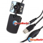 USB 6 LED 1.3M Clip WebCam Web Camera w/ Microphone MIC