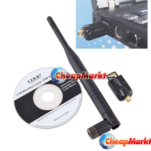 USB 150M WiFi Wireless Antenna Network Internet Adapter