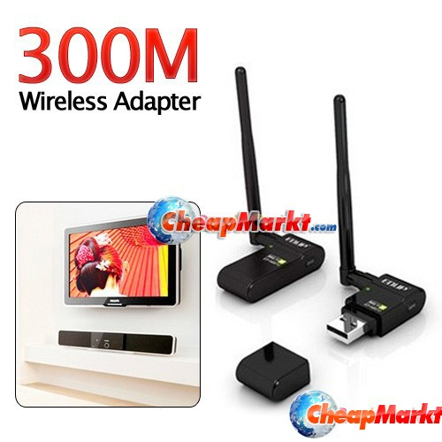 300Mbps USB WIFI Adapter for Realtek 1073/1283 HDTV