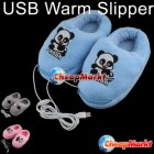 USB Heating Feet Warm Slippers Shoes for Computer PC