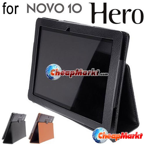 Fold PU Leather Protect Case Cover Stand Holder for Ainol Novo 10 Hero Tablet PC