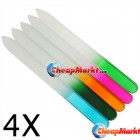 Crystal Glass Nail Files, 4 pcs.