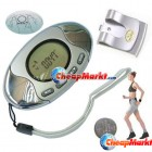 2in1 Pedometer with Body Fat Analyzer Calorie Counter