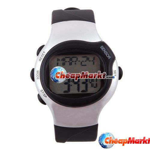 Pulse Heart Rate Calories Monitor Watch Sport Fitness