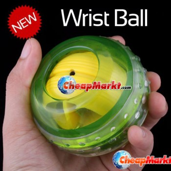 LED Light Wrist Strength Exercise Massage Massager Ball