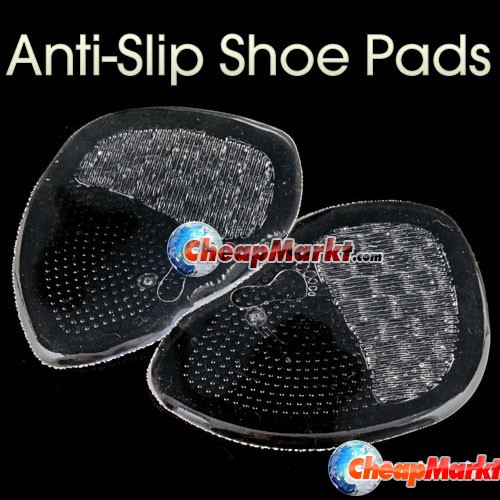 Anti-Slip Silicone Shoe Pads, 1 pair