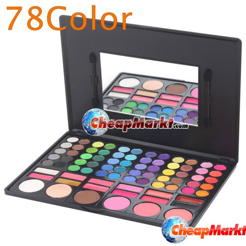 78 Color Makeup Eyeshadow Palette Blush Eye Shadow