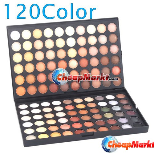 120 Full Color Eyeshadow Palette Makeup Eye Shadow