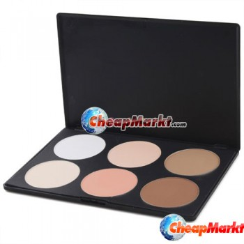 6 Color Makeup Cosmetic Blush Blusher Contour Palette