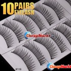 Soft Long False Eyelashes, 10 pairs