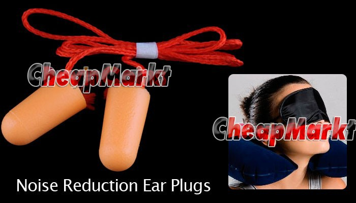 10 Pairs Noise Reduction Comfort Ear Plug with Cord
