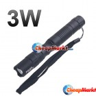 3W White LED 2 AA Handy Camping Flashlight Torch