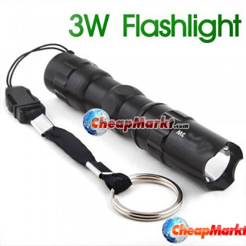 3W LED Camping Torch
