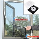 Insect Fly Bug Mosquito Door Window Net Netting Mesh Screen Sticky Velcro Tape