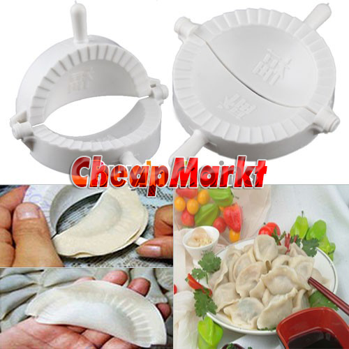 Home DIY Chinese Dough Press Dumpling Pie Ravioli Making Mold Mould Maker Tool