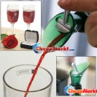 Red Wine Aerator Bottle Plug Cap Pour Pourer Silicone Shutoff Seal Stopper