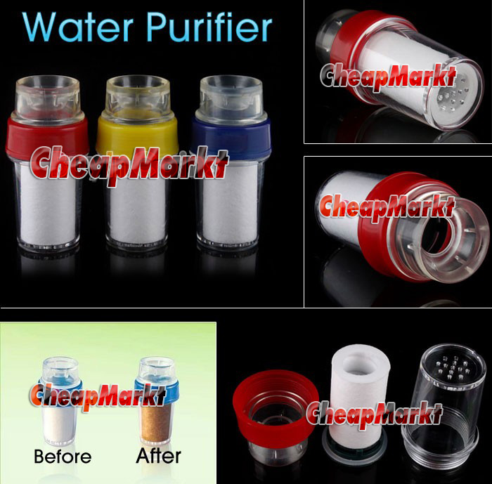 Simple Easy Faucet/Tap Water Clean Filter Purifier PP
