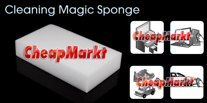 Magic Sponges for cleaning, 3 pcs.
