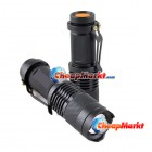 Adjustable Focus Zoom CREE Q5 LED 200 Lumen Bright Mini Flashlight Torch Hiking