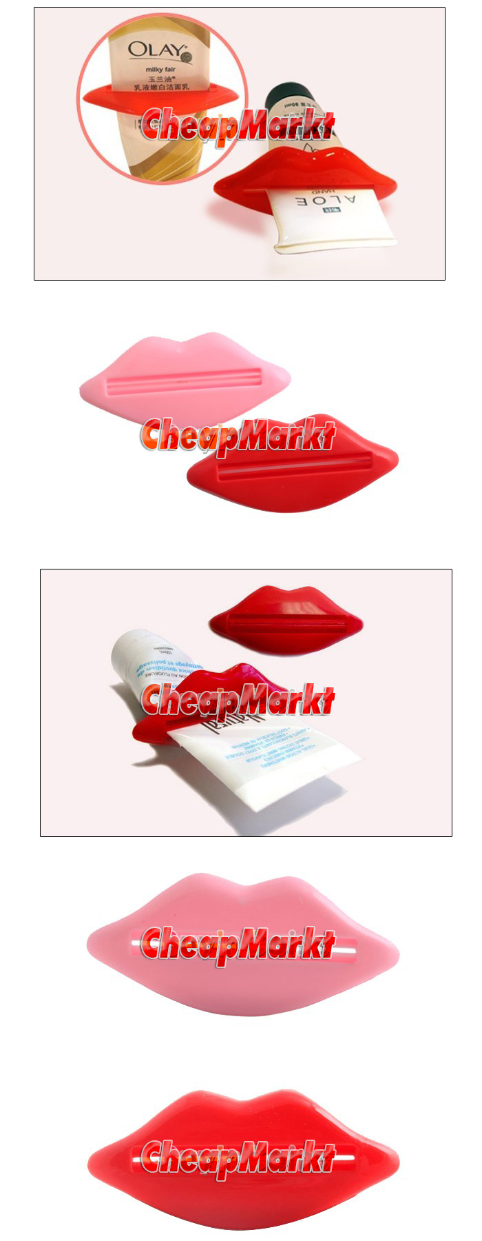 Toothpaste Dispensers, 2 pcs.