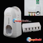 Portable Hands Free Automatic Toothpaste Dispenser And Brush Holder Touch Set