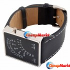 Digital Mens Ladies 29 Colorful Sector LED Wrist Watch