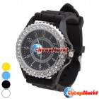Stylish Diamond Design Stainless Steel Back Women Lady Wrist Watch Best Gift