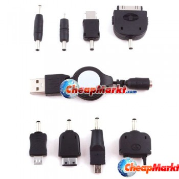 USB Universal Cellphone Charger for Motorola V3 Nokia N70 Samsung A288